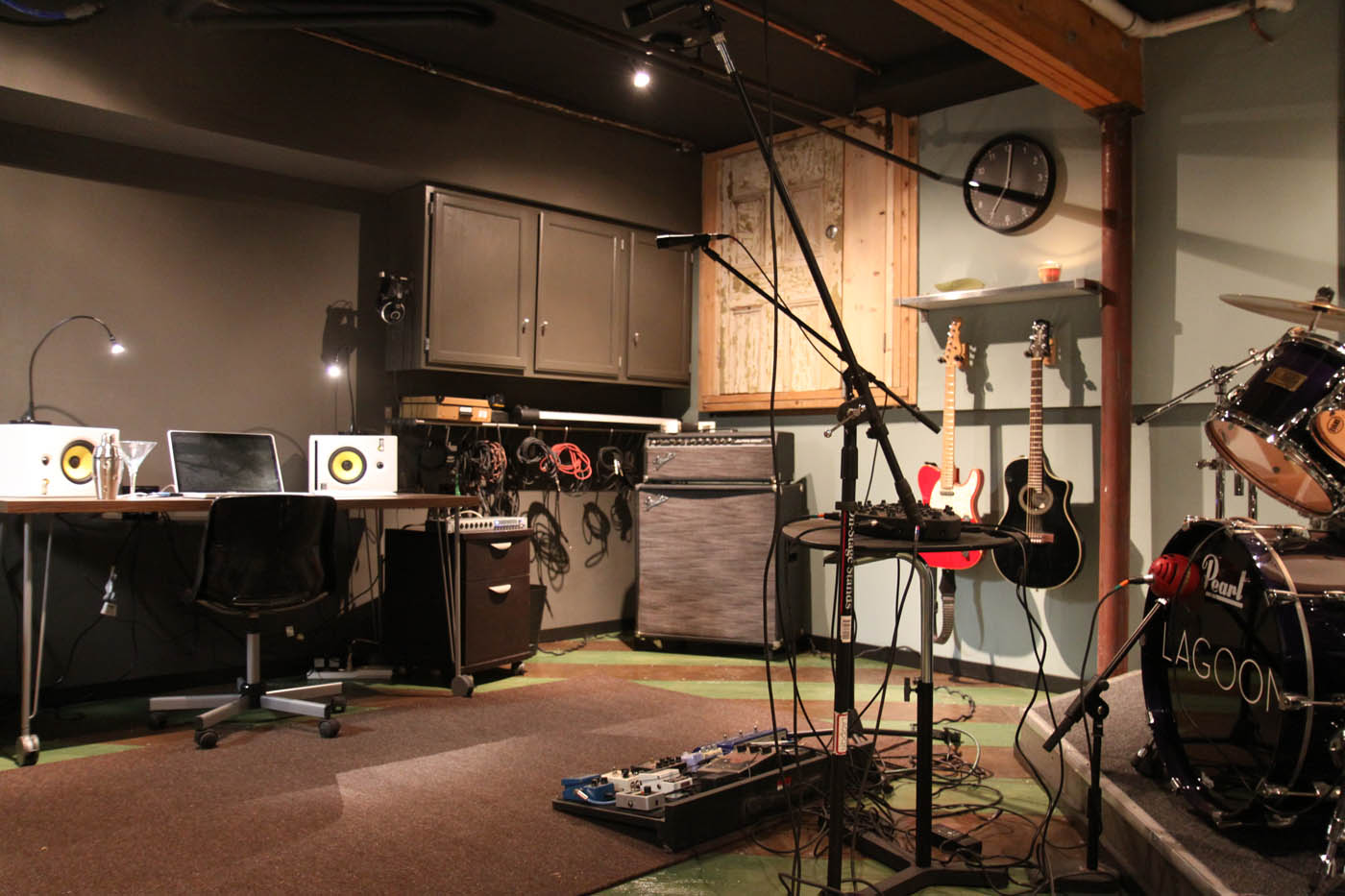 Build A Basement Studio