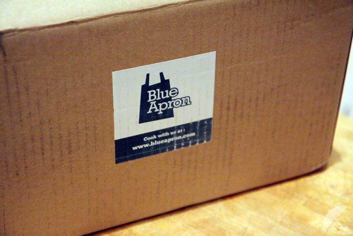 the blue apron box