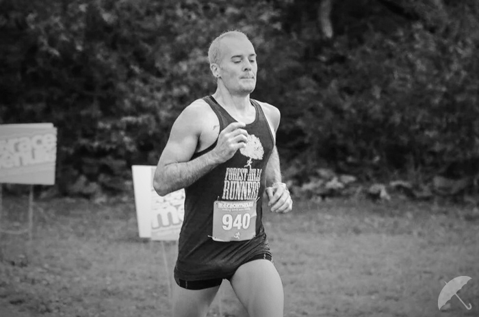 from my last 5k PR, 18:39